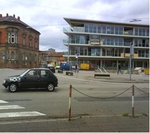 Ecke Ostbahnstraße, Schlachthofstraße