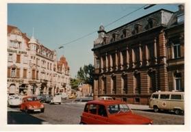 Vor Abriss des historischen Gebäudes im Ostring